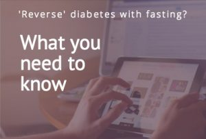reverse diabetes with fasting