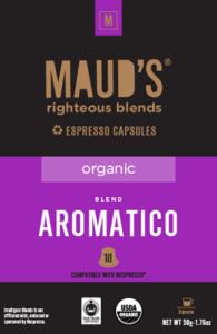 Organic Aromatico Espresso Capsules, 20ct.-160ct.