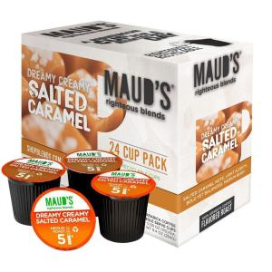 24 Salted Caramel Coffee Pods Trial