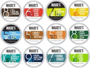 Maud's Coffee Variety Box - 136ct