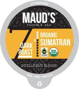 Organic Sumatran Coffee Pods
