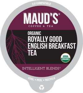 Organic English Breakfast Tea Pods