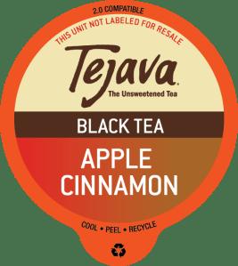 Tejava Apple Cinnamon Black Tea Pods
