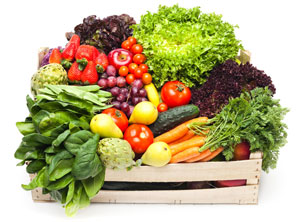 glutathione foods such as fresh fruit and vegetables help maintain glutathione production within the body