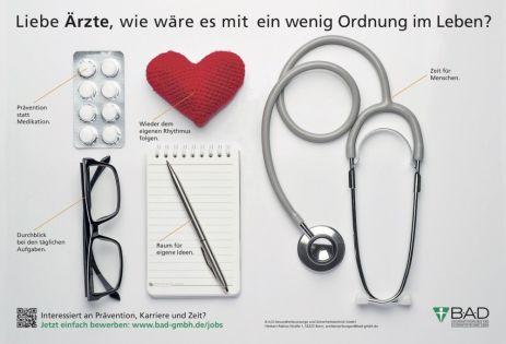 """BIG CREATION: """"Liebe Ärzte"""", von B·A·D Gesundheitsvorsorge und Sicherheitstechnik GmbH/id3 Werkstatt für Gestaltung"""