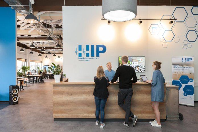 Der Health Innovation Port von Philips bietet jungen Start-ups Raum und Netzwerk.