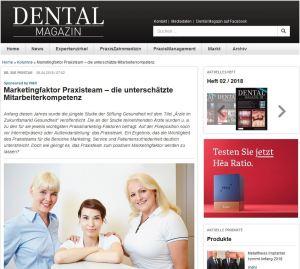 W&H Kolumne dentalmagazin.de