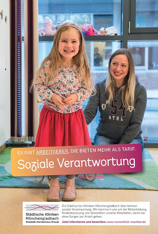 Die Imagekampagne des Elisabeth-Krankenhaus in Mönchengladbach