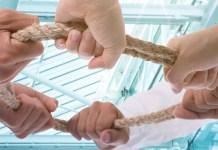 Teamwork, Hände, Zusammenarbeit