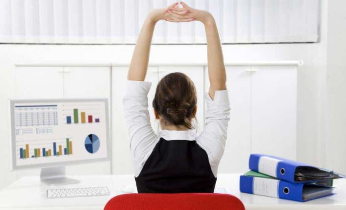 stretching-at-office