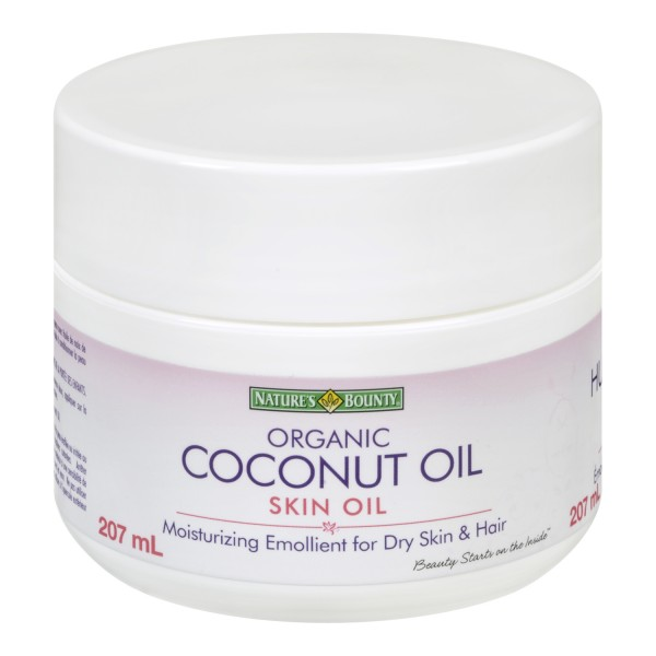 Organic Coconut Oil Skin