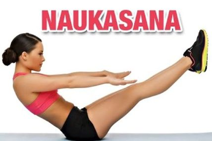 Image result for Pontoon Posture (Naukasana)