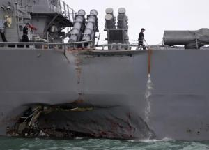 10 Navy Sailors Missing After Singapore Disaster