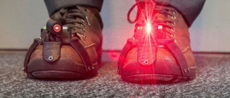 Revolutionary Shoes Help Parkinson's Patients Walk