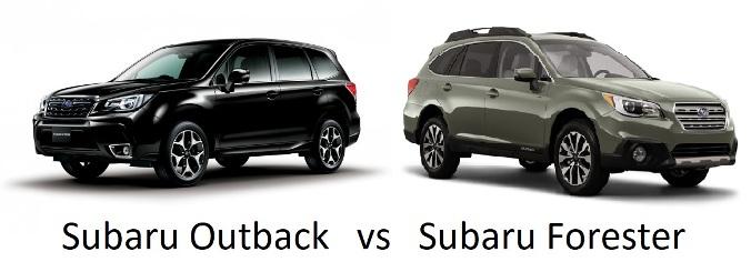 Subaru Forester vs. Subaru Outback – Best 2018 Edition Comparison