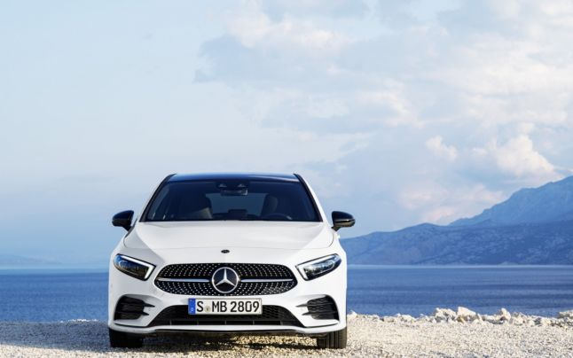 Mercedes-Benz A-Class Hatch Made Its Debut In Amsterdam