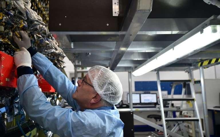 Astronaut Hails Innovative Eutelsat Quantum Satellite