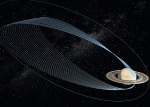 Pictures Shows us Where NASA's Cassini Spacecraft Made a Dive and Burnt