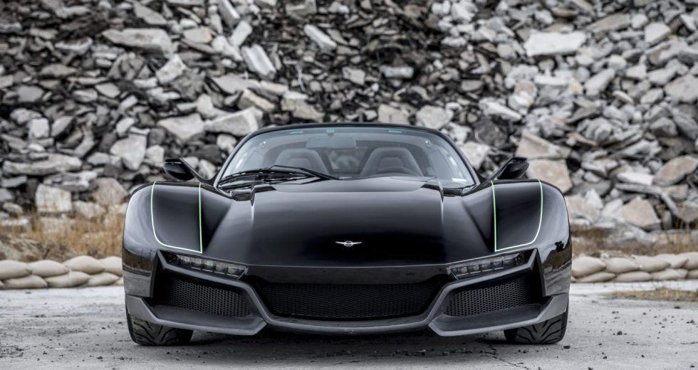 Rezvani Alpha X Blackbird Is A 700-hp Supercar