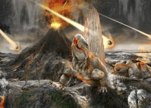 The Same Asteroid that Killed the Dinosaurs to Result in Magma Releases?