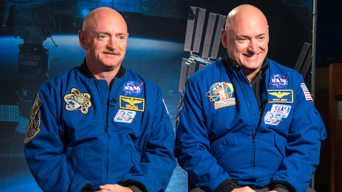 An Astronaut's DNA to no Longer Match with his Identical Twin's