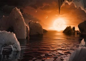 TRAPPIST-1 Exoplanets Could Have Too Much Water To Sustain Life