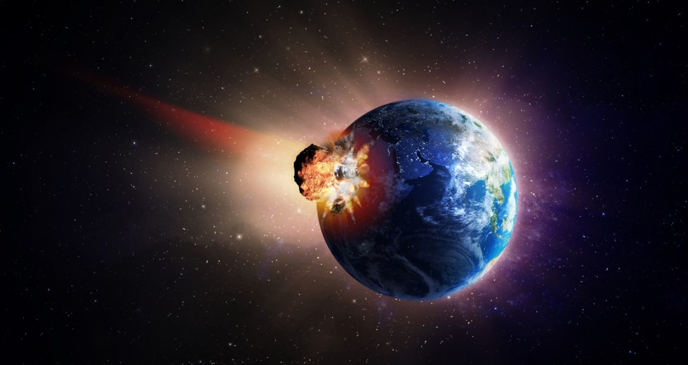Russians Recreate Apocalypse By Destroying An Asteroid With A Laser Blast