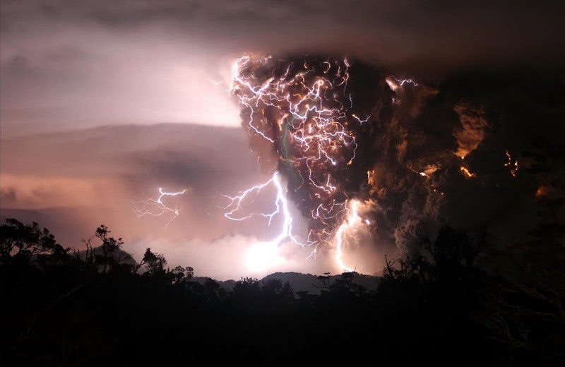 Volcanic Thunder Has Been Recorded For The First Time Ever