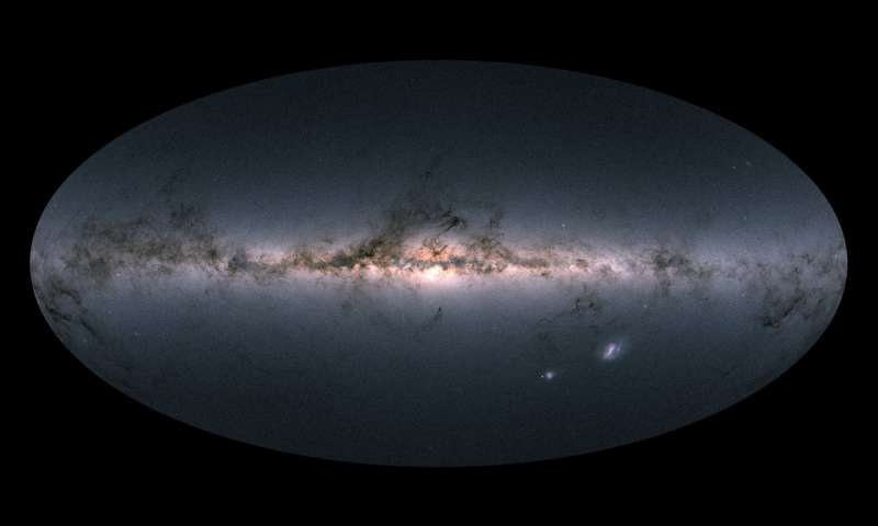 Gaia Satellite Of The ESA Created The Largest Milky Way Sky Map Ever With About 1.7 Billion Stars