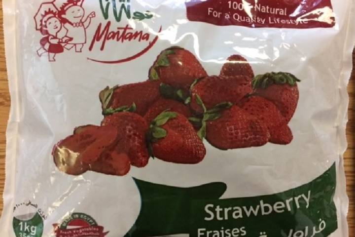 Health Hazard In Quebec As Unknown Amounts Of Frozen Strawberries Were Contaminated With Hepatitis A