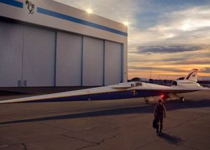 NASA Begins Building The X-Plane Supersonic Aircraft Designated For Passengers Transportation