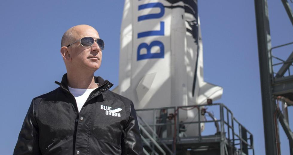 Jeff Bezos Discussed Blue Origin Plans For Space Exploration And Moon Colonization