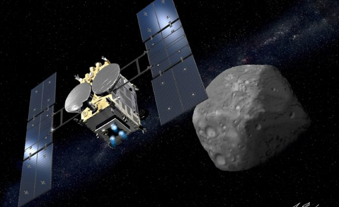 Hayabusa 2 Mission Reached Ryugu Asteroid To Study It And Shed More Light On The History Of The Universe