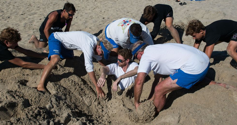 Being Buried in the Sand is as Dangerous as Fun