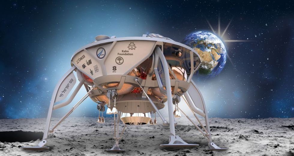 The First Israeli Mission To The Moon Will Launch By The End Of The Year