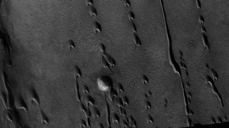 """""""Ghost Dunes"""" On Mars Might Hold Proof Of Ancient Alien Life"""