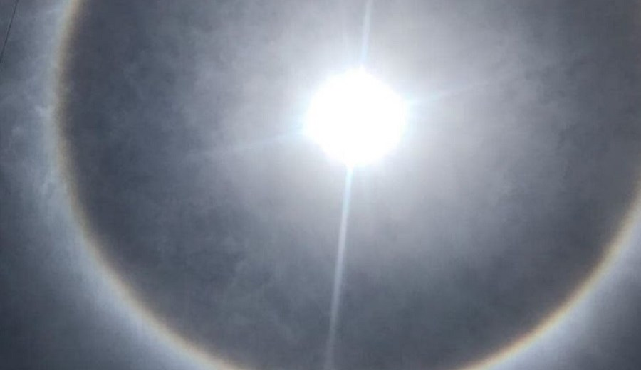 A Spectacular Solar Halo Amazed The Residents Of Mexico City And Central Mexico