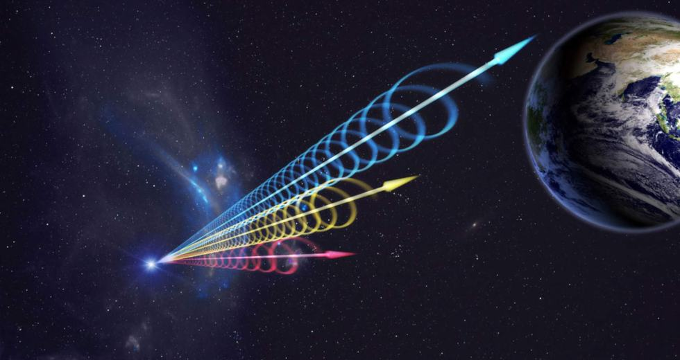 An Unknown Radio Burst was Detected by Astronomers