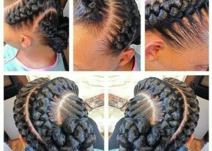 Easy and Quick Goddess Braids to Look Cute