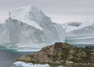 The Oldest Ice Formations in the Arctic are Coming Apart