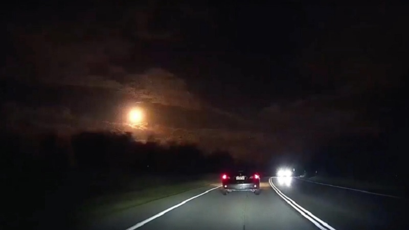 Giant Meteor Exploded Over Perth, Australia