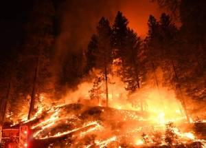 California Wildfires CausedAir Pollution As High As In Beijing