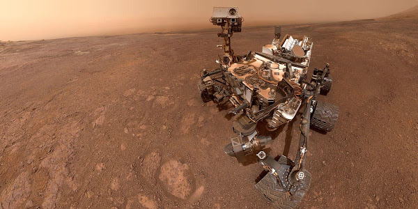 Researchers use Ingenious Curiosity Trick to learn more about a Martian Mountain