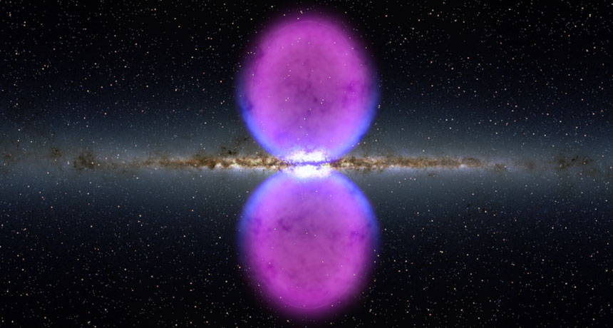 """Galactic """"Chimneys"""" Of Plasma That Spit X-Ray Found In Milky Way Galaxy"""
