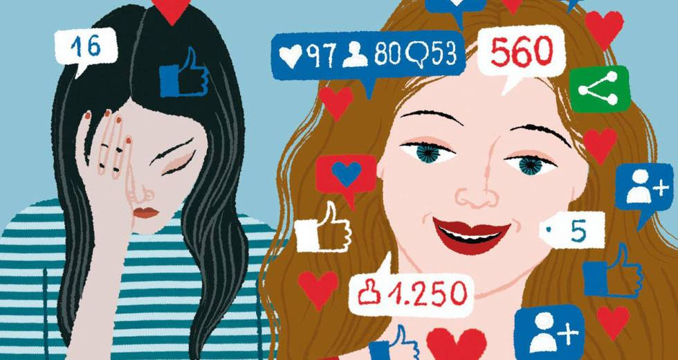 Social Media Increases The Risks Of Mental Conditions In Teens
