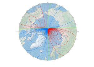 Earth's North Magnetic Pole Is Not Moving As Estimated, And That's Puzzling The Scientists