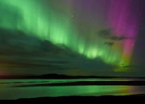 Will The Aurora Borealis Move Along With The Earth's Magnetic Poles?