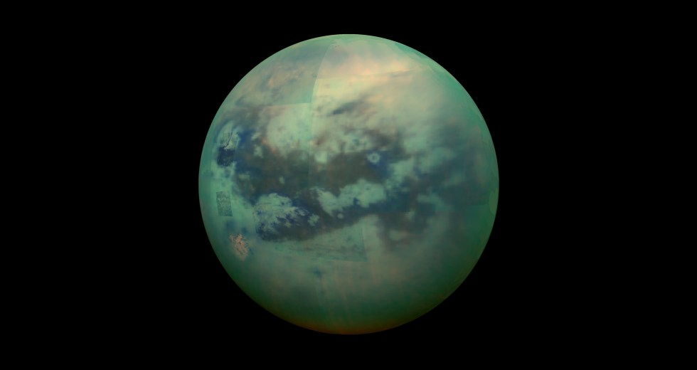 NASA Explained The Mysterious Dark Rings On Titan, Saturn's Moon