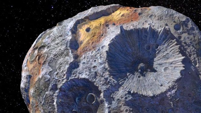 "NASA To Survey ""Golden"" Asteroid 16 Psyche With A Mission In 2022"