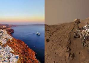 Mars on Earth – This Famous Greek Island Shares Some Traits With The Red Planet